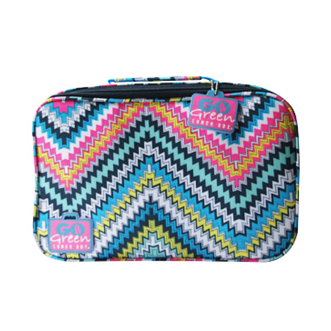 Go Green Insulated Carrying Case: Zoe's Zig Zag