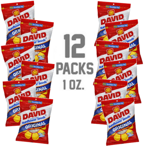 DAVID 12 - .9 OZ. REFILL PACKS