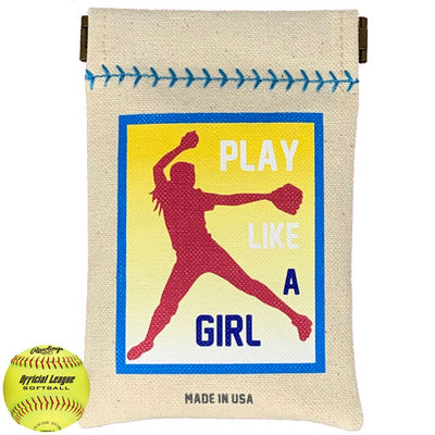 Play Like A Girl Softball Sack