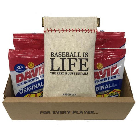 Baseball Wheelhouse Collection Seed Sack Starter Kit (Includes 6 Refills)