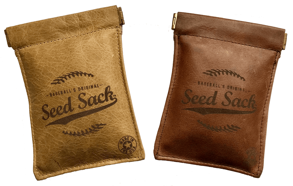 Customized Leather Seed Sack Starter Kit (Includes 6 Refills)