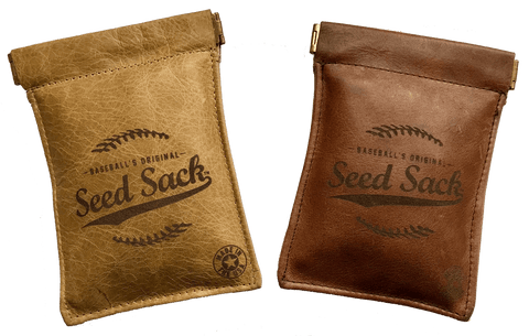 leather seed sack