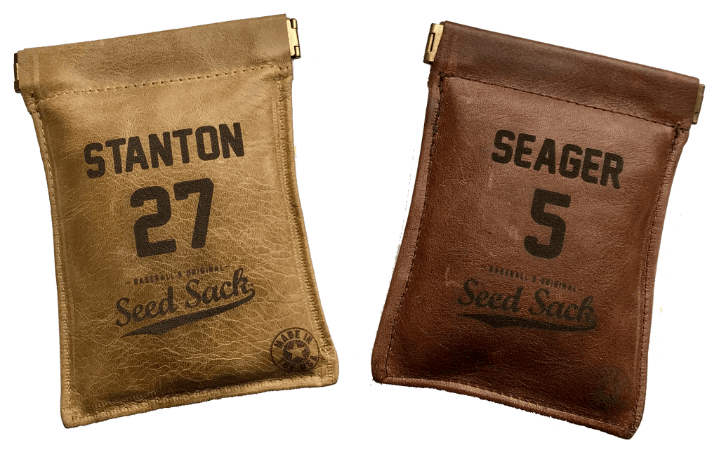 Customized Leather Seed Sack