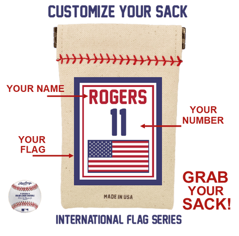 Customized Flag Series Seed Sack Starter Kit (Includes 6 Refills)