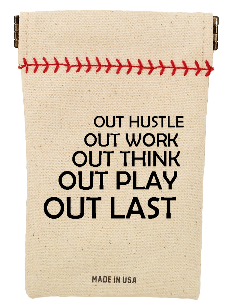 """The Single"" Baseball Wheelhouse Collection Seed Sack"