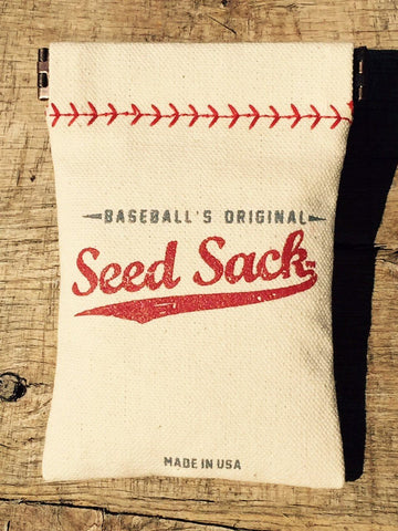 baseball's original seed sack for little league