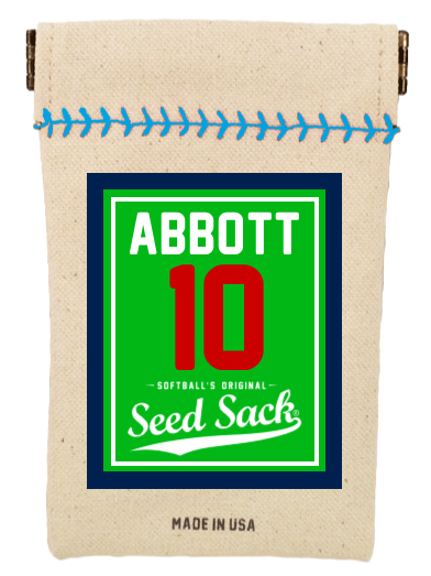 Personalized Softball Seed Sack