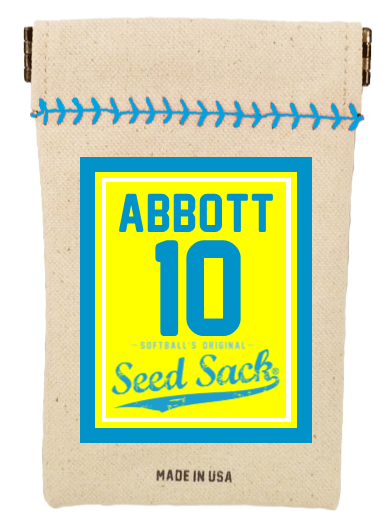 Softball Customized Classic Seed Sack Starter Kit (Includes 6 Refills)