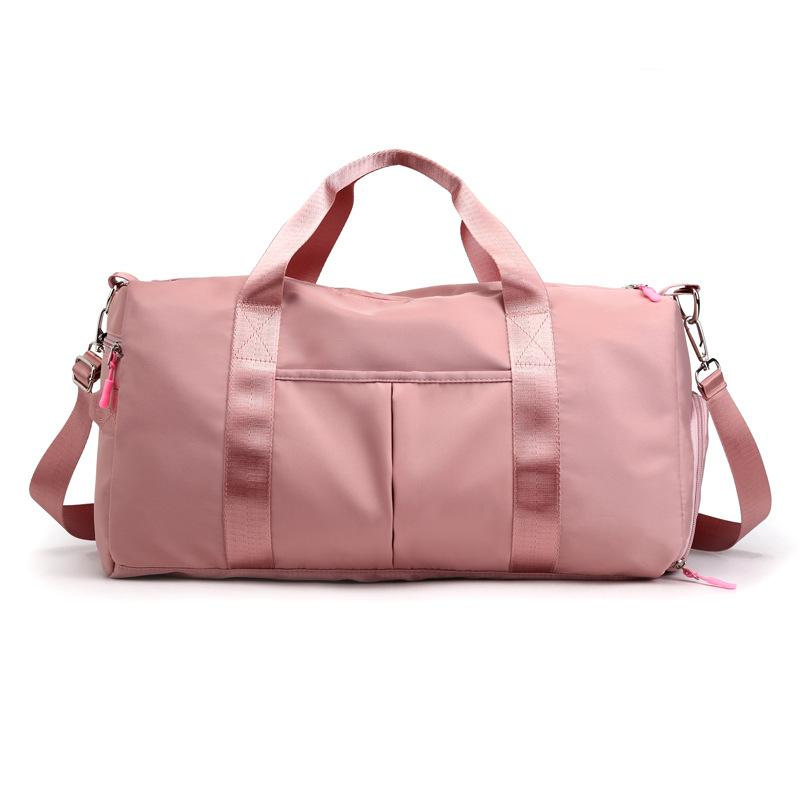 Pink Dry Wet Sports Gym Bag