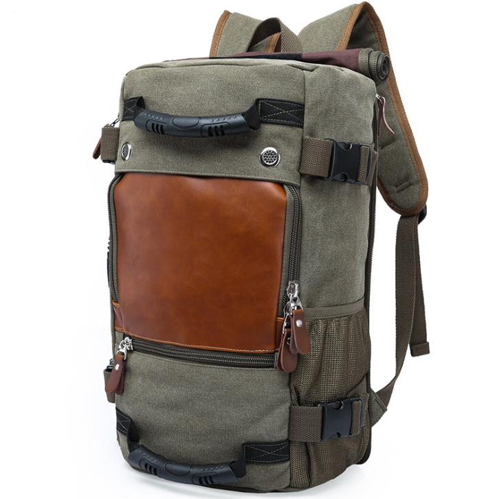 Canvas Camping Backpack