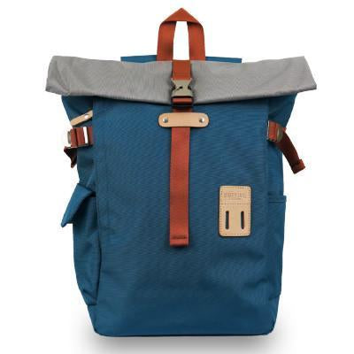 Artic Blue Rollover Backpack