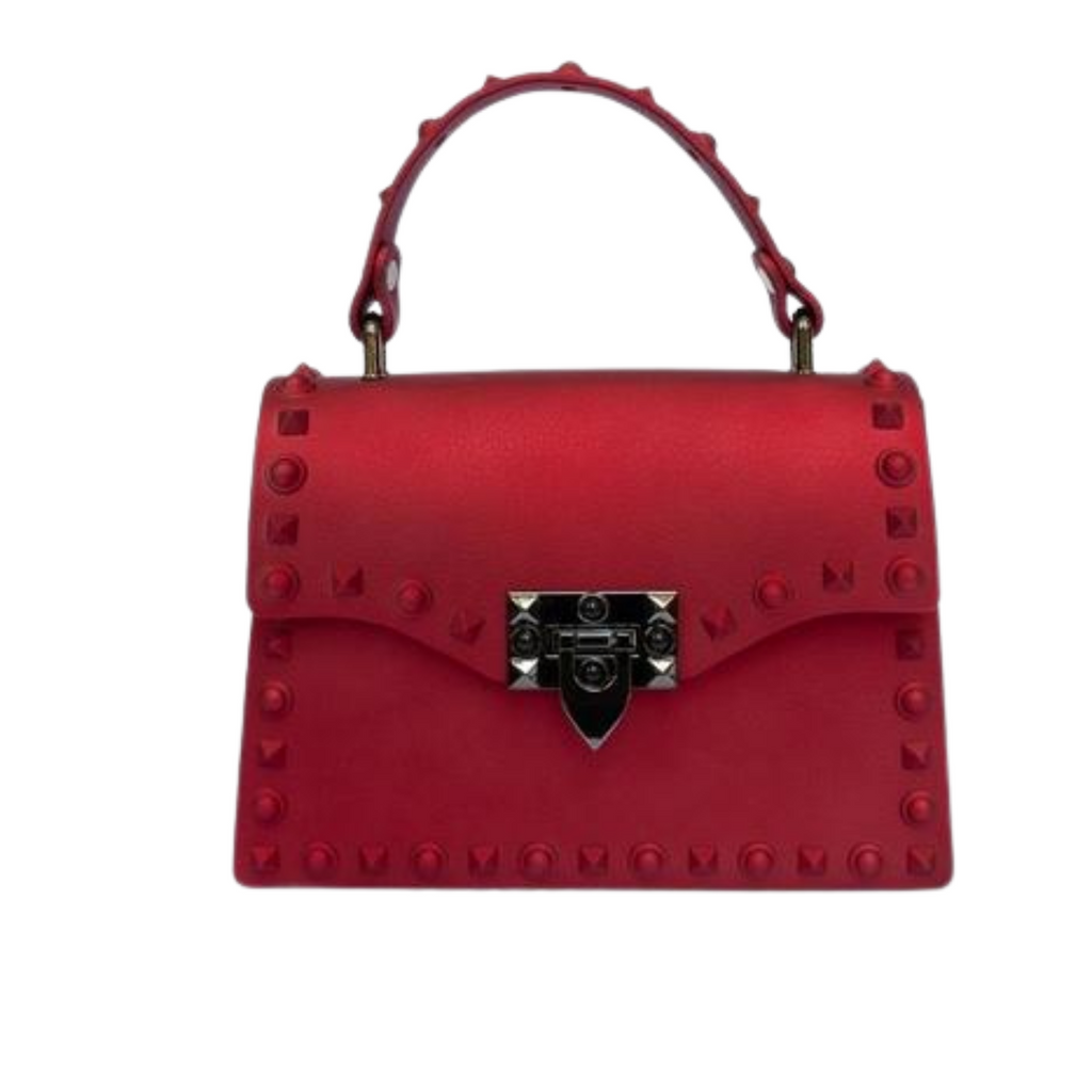 Red Satin Purse
