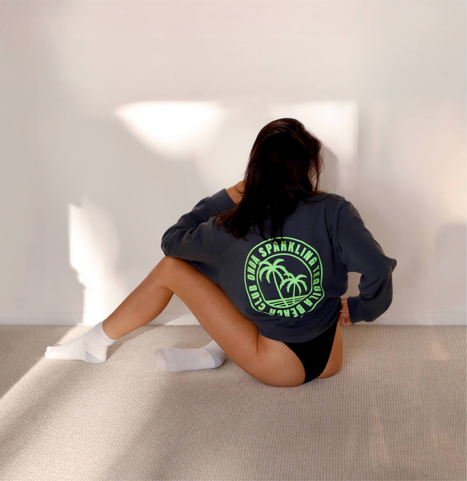 Beach Club Crewneck Sweatshirt