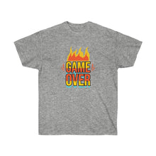 Load image into Gallery viewer, GAME OVER UNISEX TEE