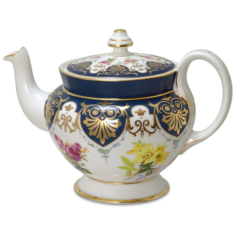 Vanderbilt Porcelain Teapot From Biltmore House Collection Beautiful Collectible