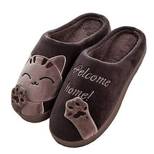 Load image into Gallery viewer, Women Winter Home Slippers Unisex Cartoon Shoes Non-slip Soft Winter Warm House Slippers Indoor Bedroom Couples Floor Shoes