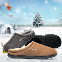 Load image into Gallery viewer, Brand Home Cotton Slippers Men Winter Bathroom Plush Shoes Male Warm Australia Style Male House Indoor Man Solid Adult Pantufa