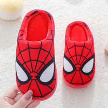 Load image into Gallery viewer, VFOCHI New Boy Girl Winter Slipper Velvet Warm Flat Shoes for Kids Cartoon Girl Casual Slip-on Shoes Children Girl Boy Slipper