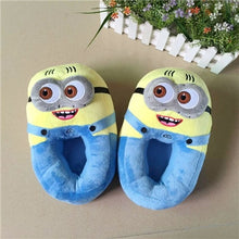 Load image into Gallery viewer, Funny Winter Home Slipper Man Women Couples Lovely Cartoon Indoor Slippers Plush Stuffed Slippers Flock Cosplay House Shoes