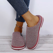 Load image into Gallery viewer, Cotton Slippers Women's Autumn And Winter Home Thick-Soled Warm Plush Slippers