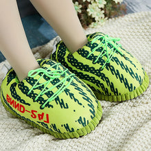 Load image into Gallery viewer, Sneaker Slippers Cotton Home Slippers Men Women Couple  Size 35-42 Indoor Snug Sneakers Winter Slippers For Vip Wholesale