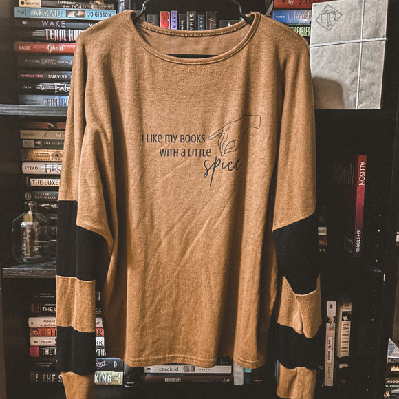 Spicy Books Shirt (Medium)