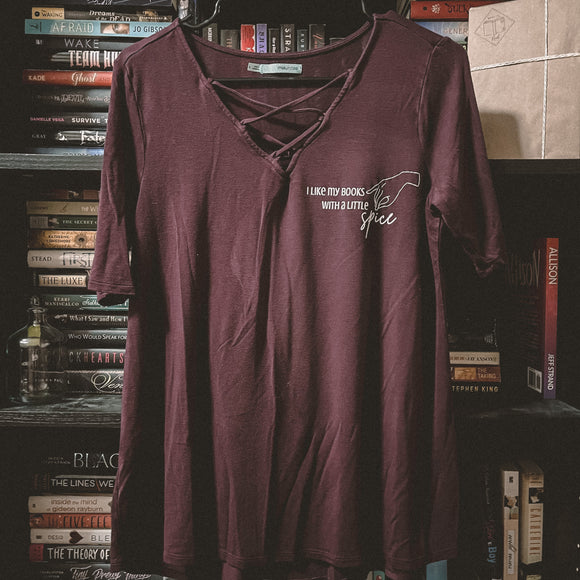 Spicy Book Shirt (Large)