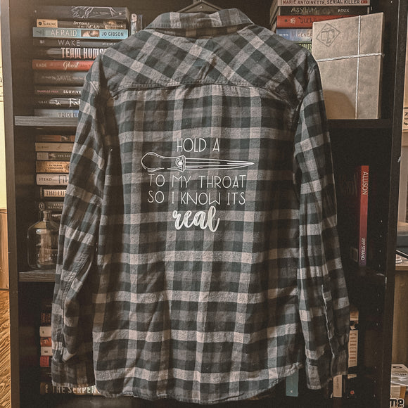 So I Know It's Real Flannel (Medium)