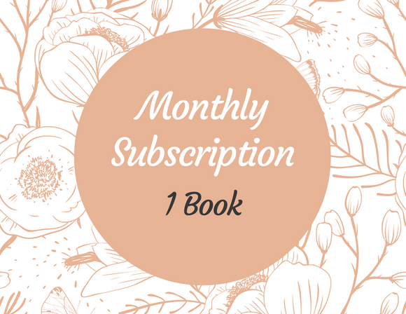 Monthly Book Subscription - 1 Book