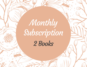 Monthly Book Subscription - 2 Books