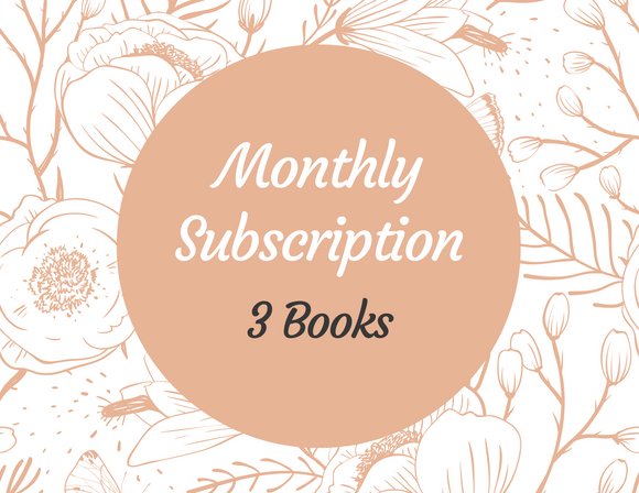 Monthly Book Subscription - 3 Books