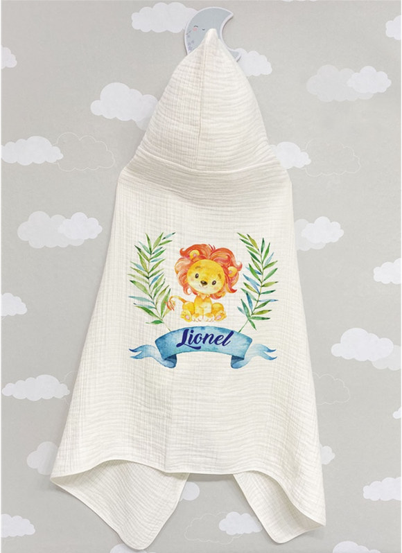 4 Layered Muslin Towel