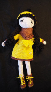 Winter Concept Amigurumi Doll