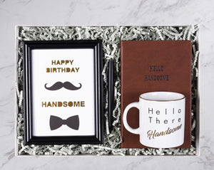 Happy Birthday Handsome Gift Box