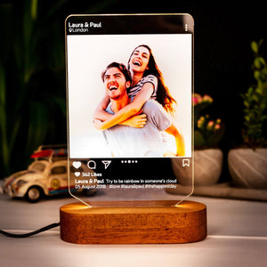 Instagram Style Led Lamp Gift