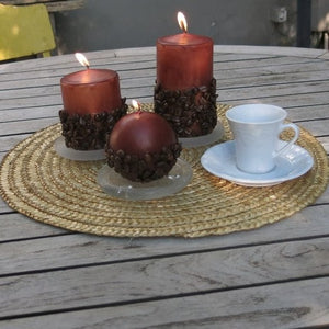 Coffee Seed Candle Set