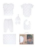 Newborn 7 Pieces Set (With Organic Certificate)