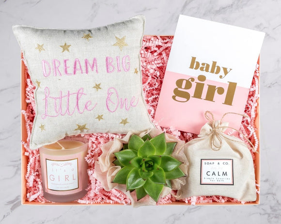 Dream Big Little One Baby Gift Box (For Girls&Boys)