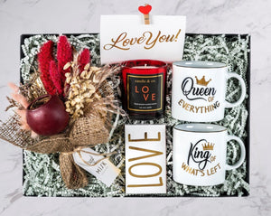 Queen&King Love You Gift Box