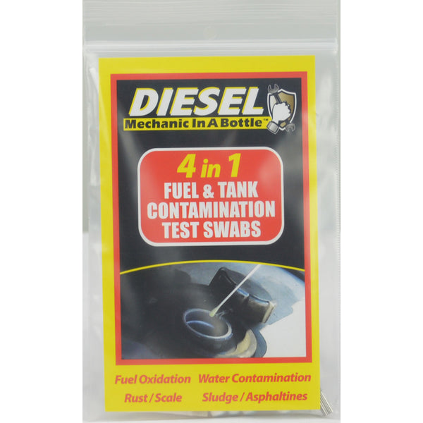 Diesel Mechanic In a Bottle 4-In-1 Test Swabs