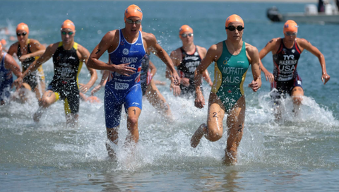 two pieces tri suit examples