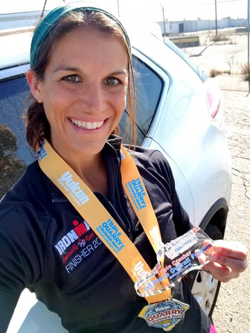 Holly didn't find triathlon until she was 30 'and now I can't imagine a life without it!'