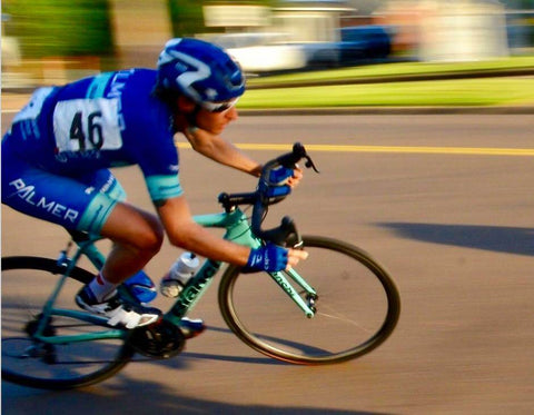 Pat's achievements as an endurance athlete have come primarily on the bike.