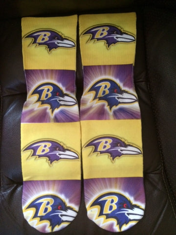 Baltimore Ravens Socks
