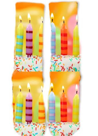 Birthday Candle Socks