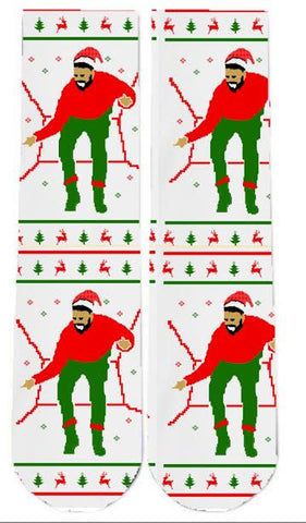 Christmas Drake Socks