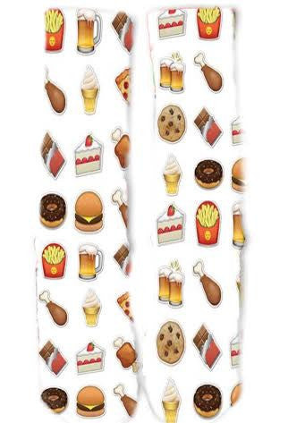 Emoji Food Socks
