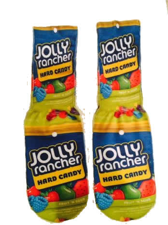Jolly Rancher Socks
