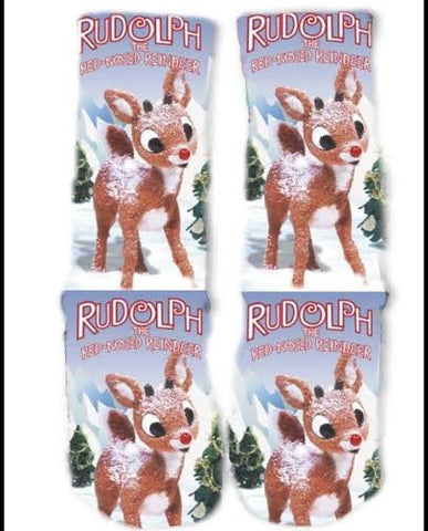 Rudolph the Red Nosed Reindeer Socks
