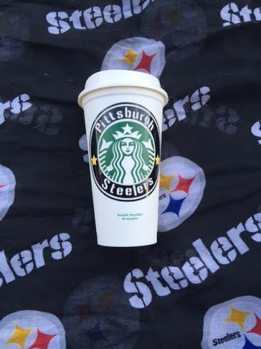 Personalized Team Starbucks Cup King Of Socks